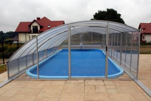 baseny ogrodowe poliestrowe Nell